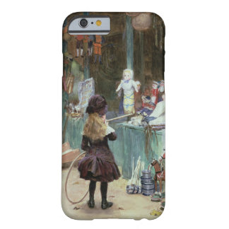 At the Champs-Elysees Gardens, c.1897 (gouache on Barely There iPhone 6 Case