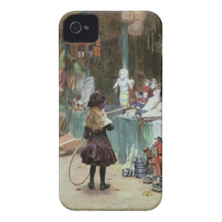 At the Champs-Elysees Gardens, c.1897 (gouache on iPhone 4 Case-Mate Cases