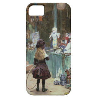 At the Champs-Elysees Gardens, c.1897 (gouache on iPhone 5 Case