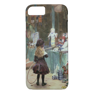 At the Champs-Elysees Gardens, c.1897 (gouache on iPhone 8/7 Case