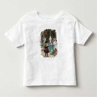 At the Champs-Elysees Gardens, c.1897 (gouache on Toddler T-shirt