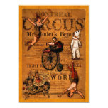 At the Circus 5x7 Paper Invitation Card