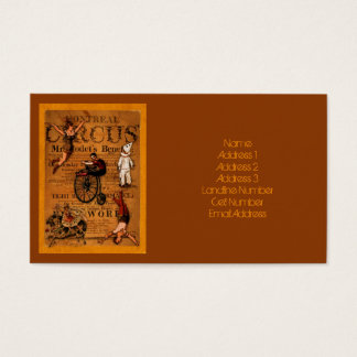 At the Circus Business Card