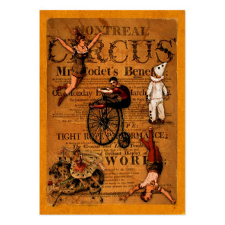 At the Circus Gift Tag Business Card