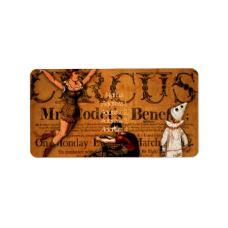 At the Circus Label