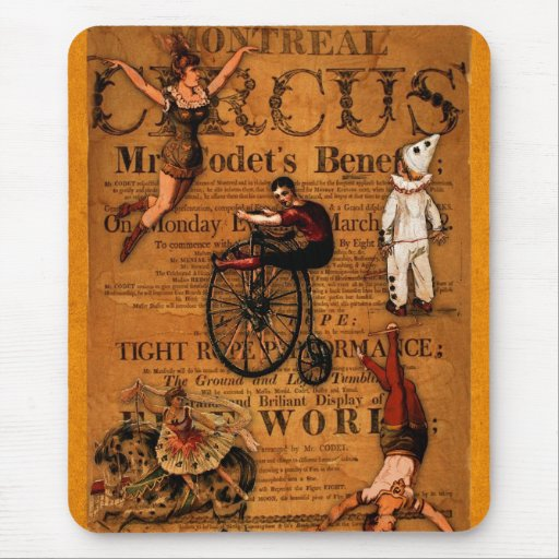 At the Circus Mouse Pad