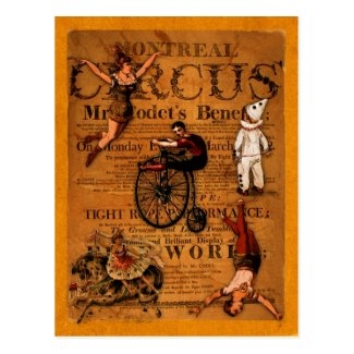 At the Circus Post Cards