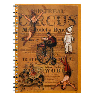 At the Circus Spiral Notebook