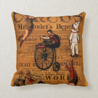 At the Circus Throw Pillow