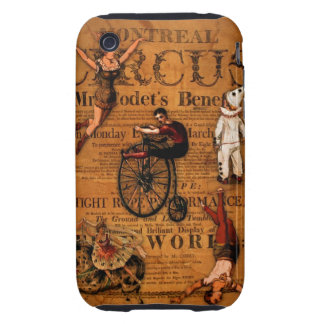 At the Circus Tough iPhone 3 Cover