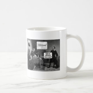 At the Climate Inquisition Coffee Mug