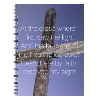 At The Cross Notebook