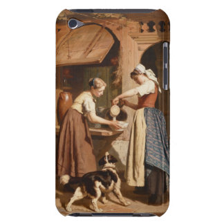 At the Dairy, 1866 (oil on panel) iPod Touch Case