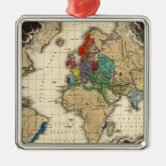 At The Death of Charles V 1551 Christmas Tree Ornaments