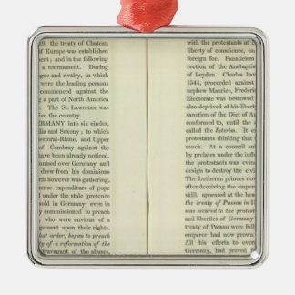 At The Death of Charles V 1551 Christmas Ornament