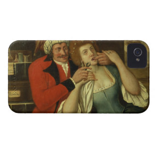 At the Dentist (oil on canvas) iPhone 4 Case