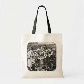 At The Derby Tote Bag