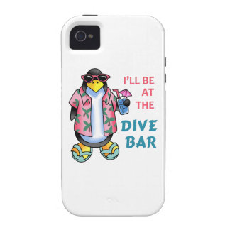 AT THE DIVE BAR VIBE iPhone 4 CASES