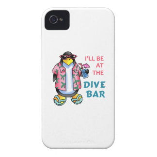 AT THE DIVE BAR iPhone 4 CASES