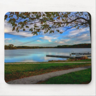 At The Dock Mouse Pad