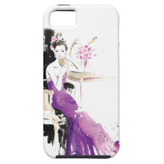 At the Dressing Table iPhone SE/5/5s Case