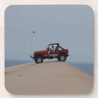 At the Dunes Drink Coaster