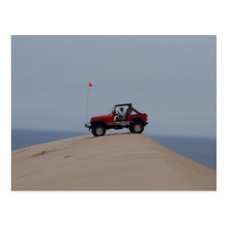 At the Dunes Postcard