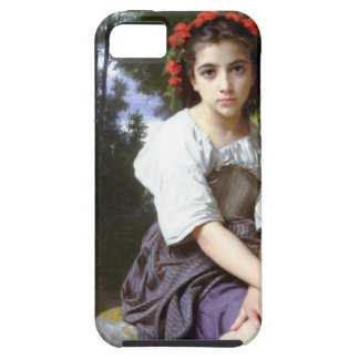 At the Edge of the Brook by Bouguereau iPhone 5 iPhone SE/5/5s Case