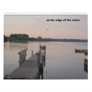 At the edge of the water calendar