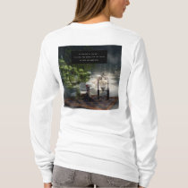 At the end of the day all are equal Womens T-shirt