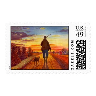 At the End of The Day ~ Hunting Buddies ~ Stamps