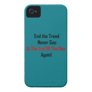 At The End Of The Day iPhone 4 Case-Mate Case
