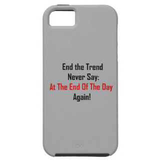 At The End Of The Day iPhone SE/5/5s Case