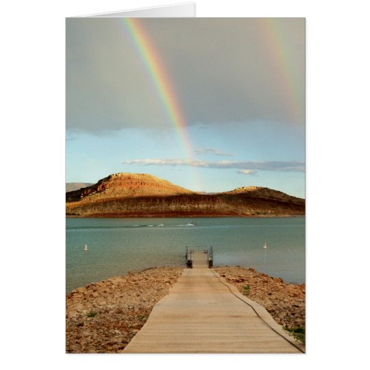 At the End of the Rainbow Card