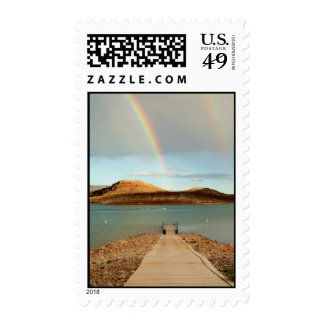 At the End of the Rainbow Stamp