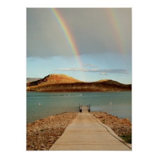 At the End of the Rainbow Poster