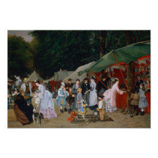 At The Fair,1877 Posters