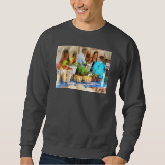 At the Farmer's Market Pull Over Sweatshirts