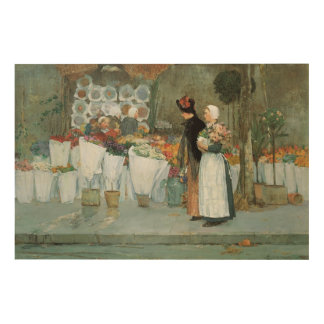 At The Florist by Childe Hassam, Vintage Fine Art