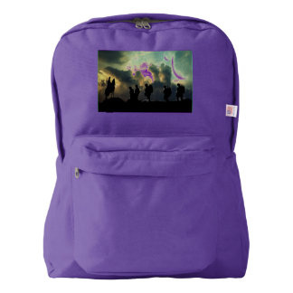 At The Going Down Of The Sun American Apparel™ Backpack