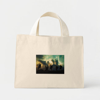 At The Going Down Of The Sun Mini Tote Bag