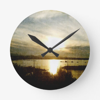 At the Going Down of the Sun Wall Clock