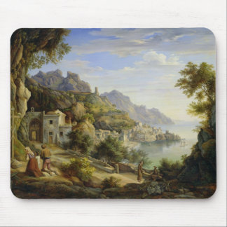 At the Gulf of Salerno, 1826 Mouse Pad