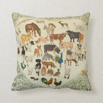 At the Heart of It All 2013 Throw Pillow