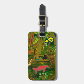 At the Heart of the Amazon River 2010 Bag Tag