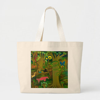 At the Heart of the Amazon River 2010 Large Tote Bag
