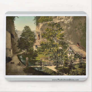 At the Hermitage, Solothurn, Switzerland vintage P Mouse Pad