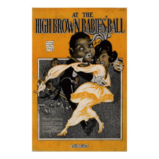 At the High Brown Babies Ball Poster