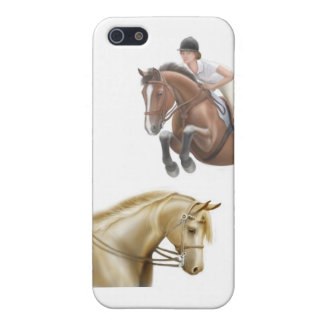 At the Horse Show iPhone Case