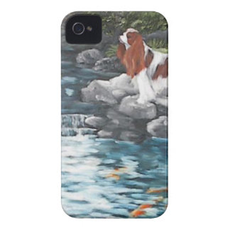 At The Koi Pond iPhone 4 Cases